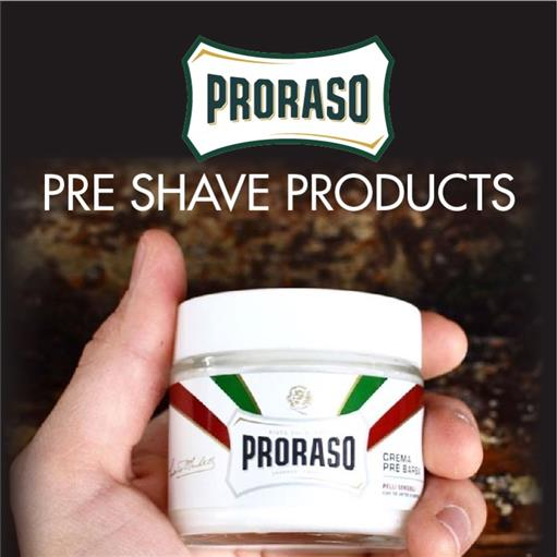 PRE SHAVE PRODUCTS