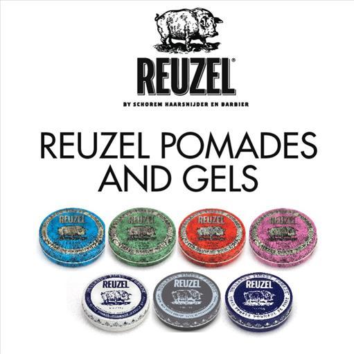1.REUZEL POMADES AND GELS