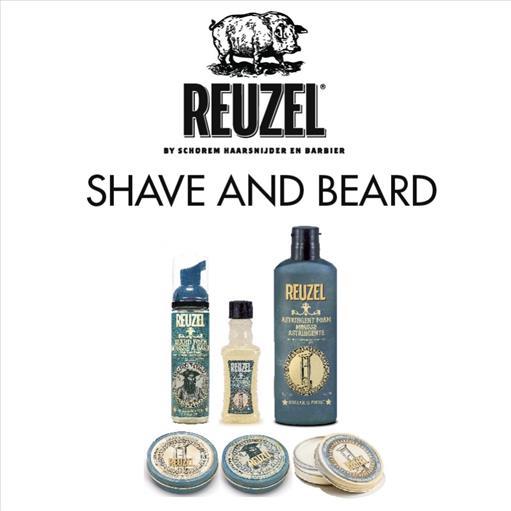 3.REUZEL SHAVE AND BEARD