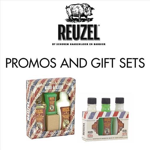 4.REUZEL PROMOS AND GIFT SETS