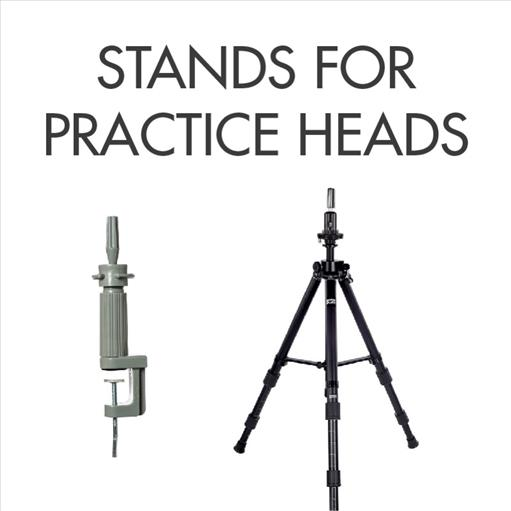 STANDS FOR PRACTICE HEADS