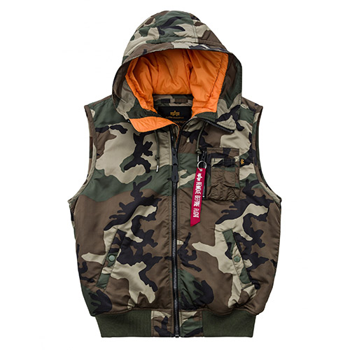 AI HOODED MA-1 VEST